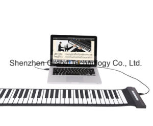 Flexible Roll Piano / 88 Keys Hand Roll up Piano (GMD-88S) pictures & photos