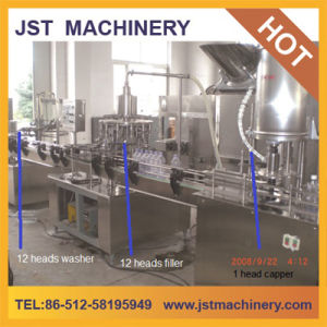 Linear Type Juice Beverage Filling Line / Machine / Machinery pictures & photos