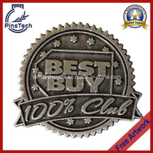 Factory Custom Lapel Pin, Cheap Pin with 2D Logo pictures & photos