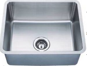 Stainless Steel Single Bowl Handmade Wash Sinks Kus2117-N pictures & photos