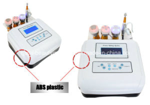 Ultrasonic Bio Wrinkle Dispelling No Needle Mesotherapy Nutrition Injection Equipment for Beauty Salon pictures & photos
