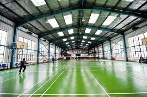 Light Steel Construction Gymnasium Building with Long Life-Span