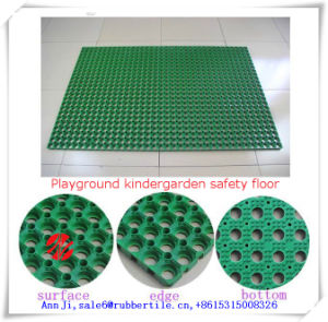Drainage Anti-Fatigue Mat Kindergarten Rubber Mat Agriculture Animal Rubber Matting pictures & photos