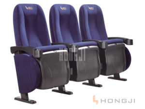 Top Seller Good Fabric Uphostered Chair for Movie Theater pictures & photos