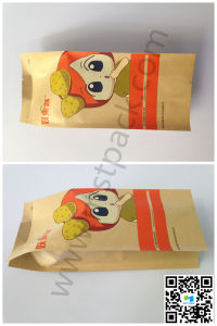 Health Nuts Packaging Bag/ Kraft Paper Gusset Bag pictures & photos