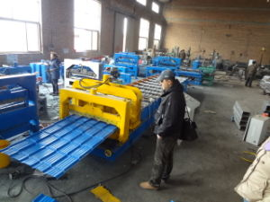 Color Coated Aluminum Roof Sheet Shaping Machine pictures & photos