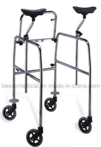 Movable Walker with 4 Castors (BES-WK24A)