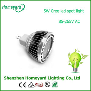 5W CREE MR16 12V AC/DC LED Spotlight