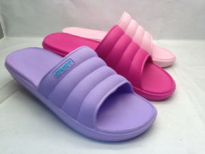 High Elasticity Rubber EVA Slippers for Lady (21iw1712) pictures & photos