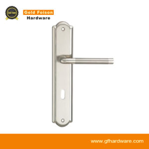 High Quality Zinc Alloy Door Handle on Plate (P101-Z010) pictures & photos