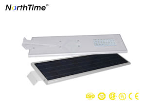30W All-in-One Smart Solar Panel LED Street Light with Bridgelux pictures & photos
