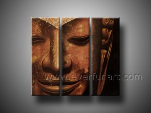 Hand Painted Buddha Oil Painting on Canvas pictures & photos
