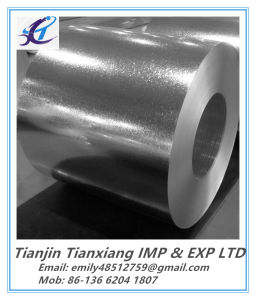 Regular Spangle ASTM A653 Hot Dipped Galvanized Steel Coil pictures & photos