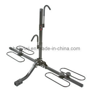 "4 Bike Wheel Cradle Carrier Rack-Bicycle Racks-2"" Hitch (TA217)"