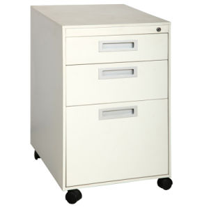 Mobile Pedestal with 3 Drawers (QBW-3A16M)
