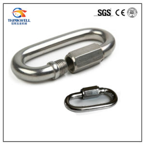 Stainless Steel Quick Link with Safety Screw pictures & photos