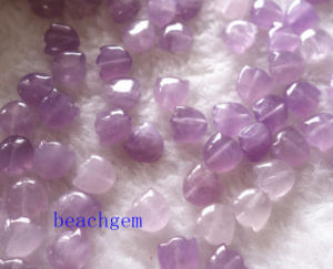 Jewelry Parts-Natural Amethyst Carved Flower pictures & photos