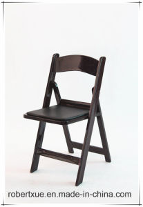Anna Wood Wedding Folding Chair in Different Colors pictures & photos