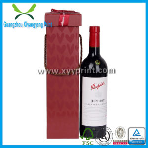Custom Paper Clear Single Wine Glass Box with Lid pictures & photos