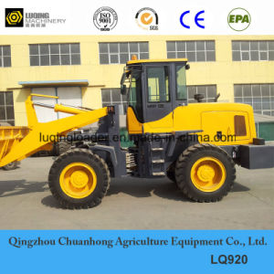 2ton 1.3cbm Bucket Middle Hydraulic Wheel Loader Pilot Control AC pictures & photos