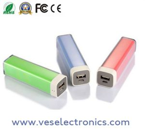 Portable Power Mobile Phone Accessories 2600mAh Power Bank pictures & photos