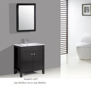Sanitary Ware Bathroom Vanity Cabinet with Mirror pictures & photos
