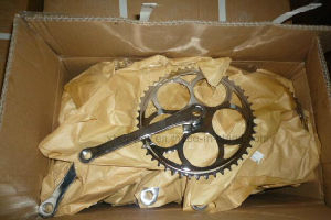Hot Selling Steel Cp Chainwheel and Crank for Bicycle pictures & photos