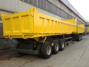 Three Axles 30 Tons Rear Dump Trailer