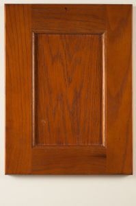 China American Red Oak Solid Wood Kitchen Cabinet Doors - China ...