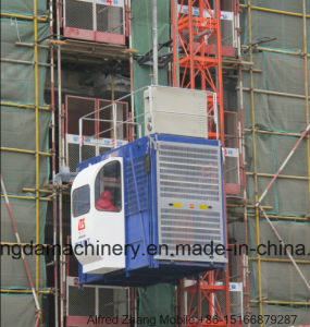 Hongda Nice Quality Construction Elevator pictures & photos