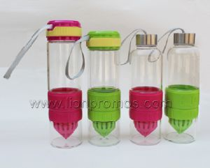 BPA Free Plastic Lemon Juice Bottle pictures & photos