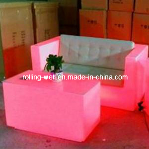 Modern LED Glowing Sofa/LED Furniture/Luminous LED Sofa
