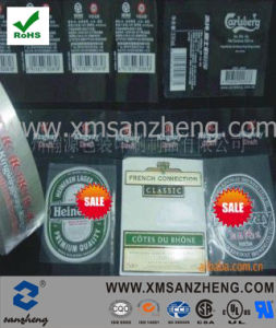 High Quality Self Adhesive Sticker for Wine (SZXY140) pictures & photos