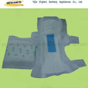 3D Leak Guard Bule Anion Sanitary Napkins pictures & photos
