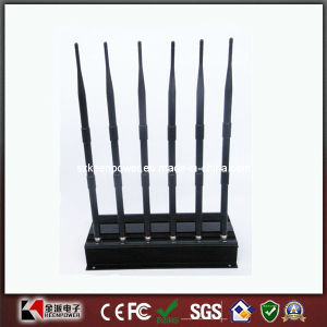 High Power Desktop GPS Cell Phone Lojack Signal Jammer pictures & photos