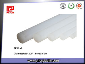 Natural PP Plastic Rod with Good Tensile Strength pictures & photos