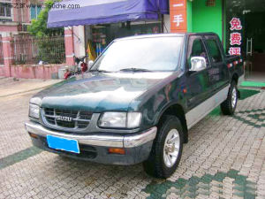 Isuzu 4X2 Double Row Cabin Diesel Pick up (QL1020XGDRC) pictures & photos