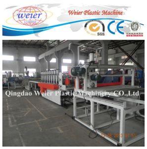 Wood Plastic WPC PVC Crust Foam Board Sheet Production Line pictures & photos