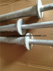 Steel Crossarm Pin /11kvor 33kv Insulator Steel Spindle Pin pictures & photos