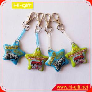 Custom Cheap Gift Full Color PVC Keychain (M102)