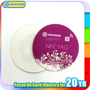 NTAG203 Ntag213 RFID NFC Sticker anti metal tag Label pictures & photos