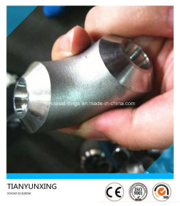 Long Radius 90 Degree Sch160 Stainless Steel Seamless Elbow pictures & photos