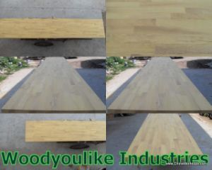 African Iroko Worktops, Solid Wood Table Tops