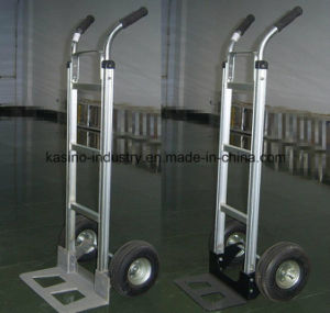 High Quality Aluminum Folding Hand Trolley Ht1860 (Competitive price) pictures & photos