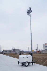 5kw Wacker Design 4*400W Light Tower pictures & photos