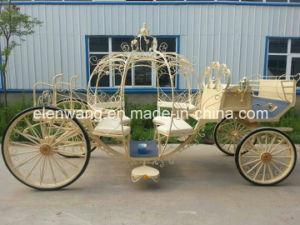 Cinderella Pumpkin Horse Cart Horse Carriage (GW-HC06) pictures & photos