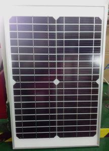 20W Mono Solar Panel for Solar Courtyard Light pictures & photos