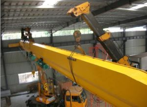 Steel Structure Worskhop Prefab Factory Material Handling Equipment Overhead Traveling Overhead Cranes with Hoists 5 Ton, 10ton, 15 Ton pictures & photos