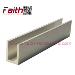 Aluminium U Channel for Glass (Uch. 101. Al pictures & photos