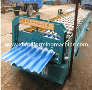 Corrugated Shape Cold Rolled Roll Forming Machine pictures & photos
